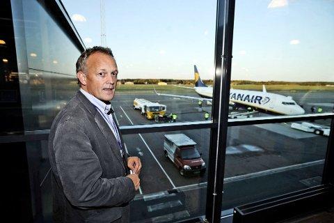 Konkurs: Pål Tandberg frykter konkurs på Rygge.