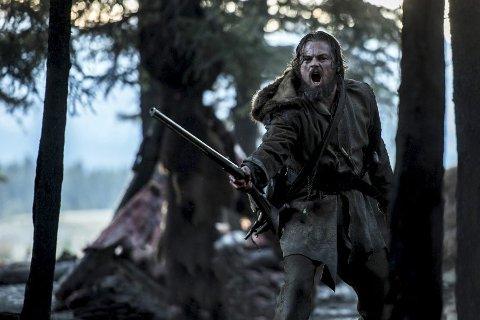 THE REVENANT: Leonardo de Caprio har hovedrollen i The Revenant, som er nominert til en rekke Oscar-priser.