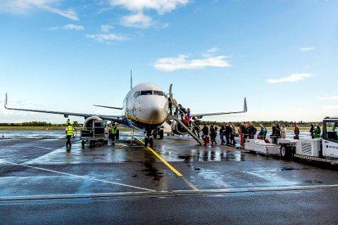 MEDVIND: Arbeiderpartiet fylkesleder mener holdningen til flyseteavgift har gitt partiet vind i seilene i Østfold.
