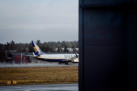 Ryanair forlater Moss lufthavn Rygge for godt 29. oktober.