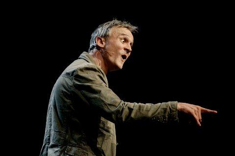 VETERAN: Jon Schau er en av landets mest drevne stand up-komikere.
