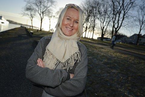 Daglig leder av Moss i sentrum, Kristin Utakleiv.