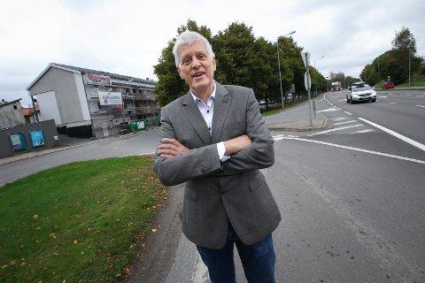 ANNEN LØSNING: Daglig leder Jørg Westermann i Norsk Bane har funnet en annen løsning enn Bane Nor til tilkobling av Østre linje til Ski stasjon.