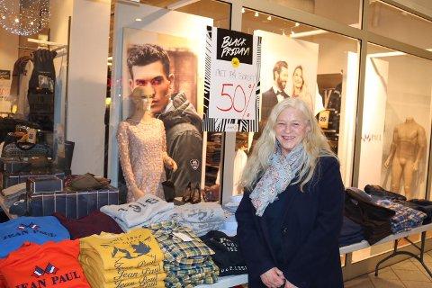 SKUFFET: Elisabeth Johansen var ikke helt fornøyd med tilbudet på Black Friday.