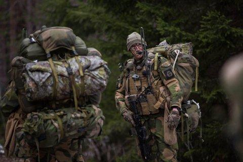 ØVELSE: Forsvarets øvelse vil pågå i hele Østfold