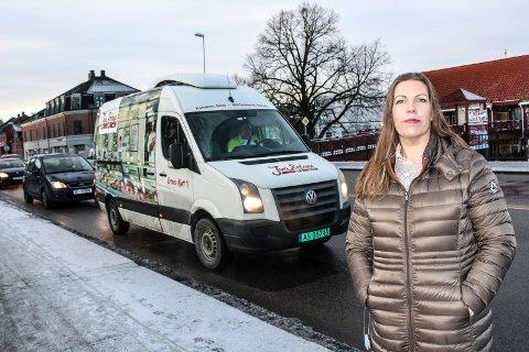 BEKYMRET: Styreleder Elisabeth Leikanger i Søndre Jeløy vel har skrevet bekymringsmelding til kommunen om beredskapen på Jeløy.