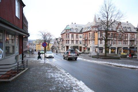 Moss kommune får 1.550.000 kroner til å lage sykkelfelt og gang- og sykkelvei fra Rådhusgata til Torggata.