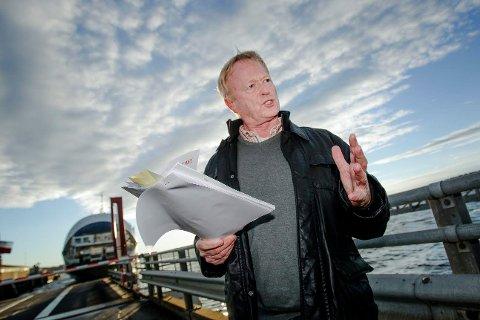 VIL FINNE KILDEN: Med så høye verdier bør vi finne kilden til forurensningen, sier Knut Bjørndalen, miljøvernsjef i Moss kommune.