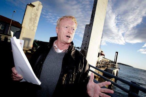 FORURENSET LUFT: – Når vi har episoder med høye verdier som vi ikke kan forklare, er det viktig å identifisere kilden, sier miljøvernsjef Knut Bjørndalen i Moss kommune.