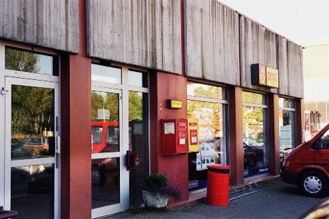 FALSKE DOLLAR: Det var på Høyden postkontor kvinnen forsøkte å veksle inn falske dollarsedler.