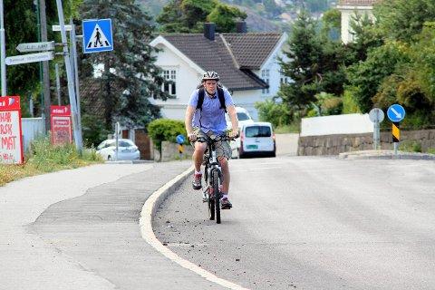 SYKKELFORSLAG: Jonas Sjolte (MDG) foreslår at det legges til rette for at Hoppern-elever kan sykle til Solli skole.