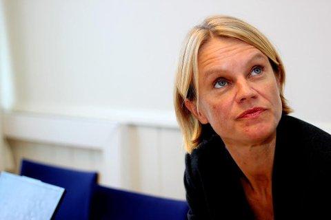 SENDER HASTEBREV: Nesodden-ordfører Nina Sandberg