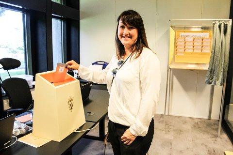 I BOKS: - Jeg er på ferie i Spania på valgdagen. Derfor forhåndsstemmer jeg, sa Cathrine Nygård til Moss Avis i august.