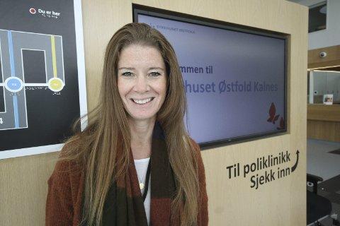 Ingunn Olsen (40) fra Moss er innovasjonssjef på Sykehuset Østfold.