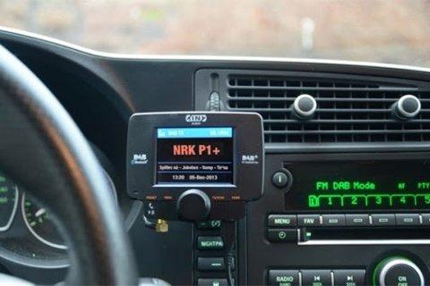 Voldsom økning: Dab-radioer til bil går unna i ekspressfart.