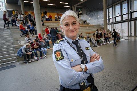KLAR TALE: – Det er viktig at politiet får kjennskap til alle tyverier, sier fungerende krimsjef Lill-Beathe Busch-Norum ved Moss politistasjon.