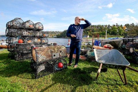 Per-Mathias Høgmo er en av mange som gjerne pråøver lykken under årets hummerfiskesesong.