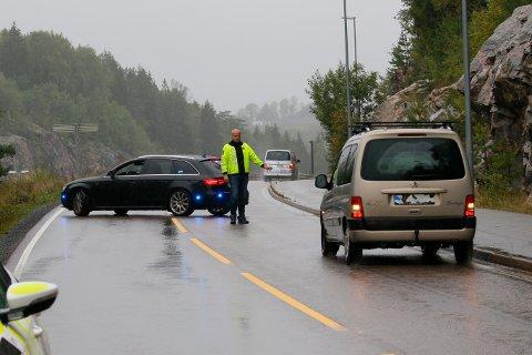 For andre dag på rad har politiet plukket inn syndere som snur på E6 og kjører mot kjøreretningen ved Horgen.