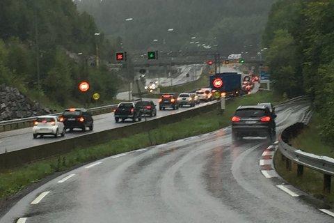 Oppgraderingen av Nordbytunnelen gir store trafikkutfordringer.