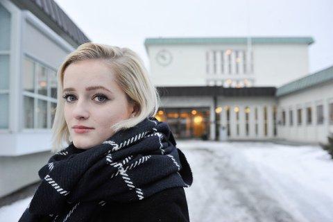 TREKKER SEG: Julia Sandstø melder seg ut av KrFU.