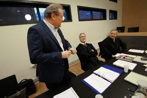 Ankesak i Borgarting: Niels Wiig hadde advokatene Ronald Pedersen og Jon Wessel-Aas i lagmannsretten.