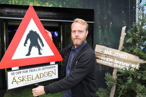 """REGISSØR: Nesoddingen Mikkel Brænne Sandemose har regissert """"Askeladden i Dovregubbens Hall""""."""