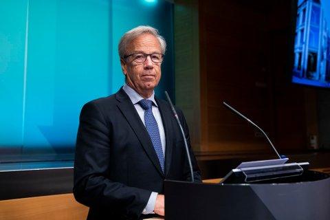 BEKYMRET:Sentralbanksjef Øystein Olsen varsler at renten kommer til å stige ytterligere neste år.