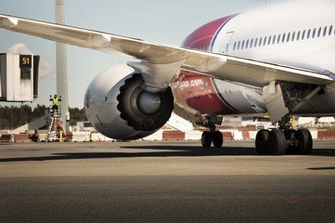 Øker: Norwegian har hatt en sterk passasjervekst særlig på rutene til USA.