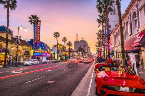 Los Angeles: Mange nordmenn drar til Los Angeles. I fjor sank også overnattingsprisene noe i storbyen.