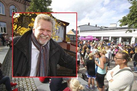 ÅPENT MØTE: Trygve Nordby, prosjektleder for Moss2020, håper mange vil engasjere seg i den store feiringen om to år.