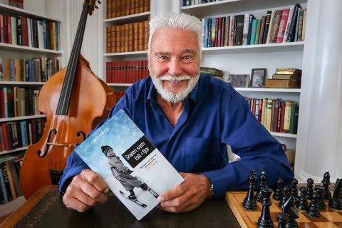 NY BOK: Øyvind Nustad fra Moss har gitt ut boken «Snøen som falt i fjor».