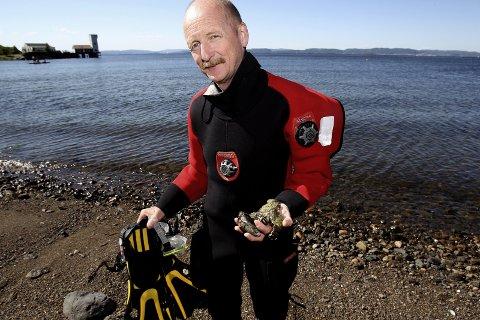 SPENNENDE: Neste år skal Terje Turøy dykke i Maldivene.