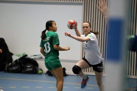 PÅ LANDSLAGET: Cecilie Brække fra Son HK er tatt ut på landslaget i beach-håndball.