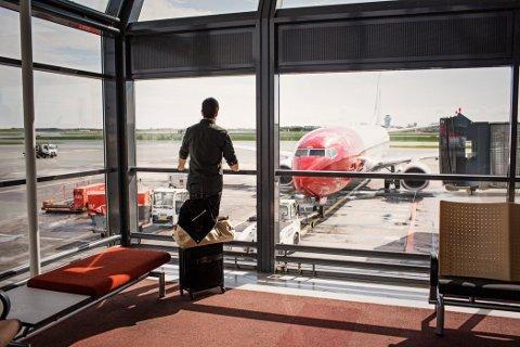 ØKTE: Norwegian hadde en halv million flere passasjerer i mai i år, kontra i fjor.