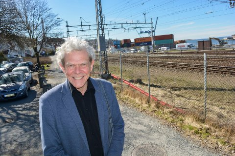 Jonathan Parker, leder i Bedre Bytuvikling Moss, BBM.