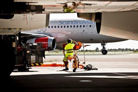 STØRST: København lufthavn er klart størst i Norden.
