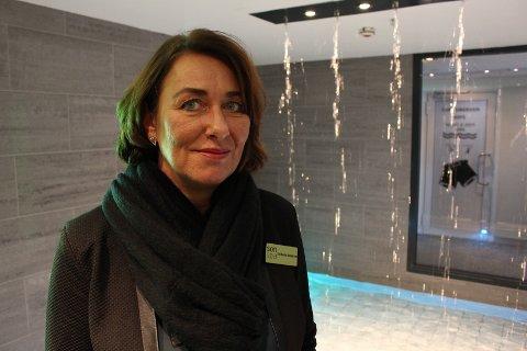NY SPASJEF: Siri Beate Haukland, bare kalt Beate på hotellet, er den nye spasjefen på Son Spa.