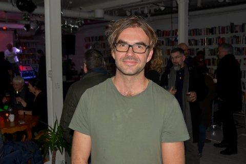 GRÜNDER: Martin M. Sørhaug, daglig leder hos House of Foundation i Moss. Her på jubiluemsfesten fredag kveld.