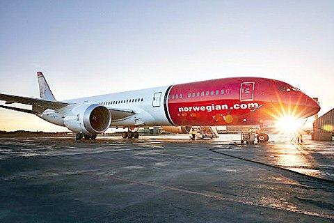 STØRST: I en tid hvor Norwegian sliter økonomisk, kan selskapet vise til at de er det største europeiske flyselskapet som flyr til og fra New York.