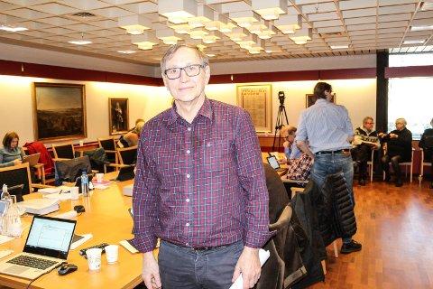 ENGASJERT: Eirik Tveiten (Rødt) kjemper for å få innført Oslomodellen i Moss.