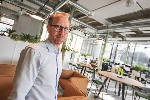 Höegh Eiendoms direktør, Jan Erik Kristiansen, er redd det blir trafikkøkning i nordre bydel.