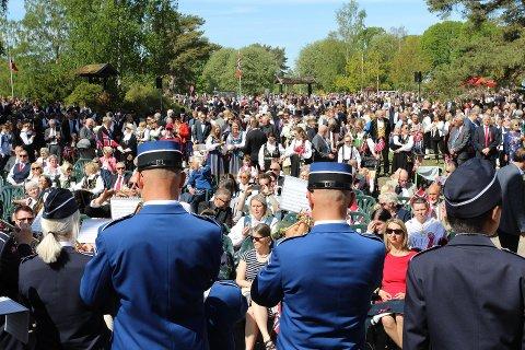 17. mai-feiringen på Bygdetunet i Rygge.