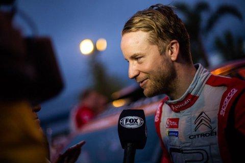 Mads Østberg gikk til topps i Svenske Rally.
