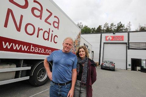 BLITT STORT: Import og salg av østeuropeiske matvarer er i ferd med å vokse seg skikkelig stort for ekteparet Cato og Oxana Hansen i Baza Nordic. Med den store arbeidsinnvandringen Norge har fra Øst-Europa er markedet betydelig.