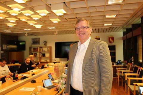 MYE MAKT: Hans Reidar Ness konstitueres som rådmann i Moss og Rygge til høsten, samtidig som han fortsetter som rådmann i nye Moss. SVEIP OVER OG SE FLERE BILDER.