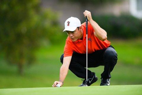 HEVDER SEG: I helgen har Kristoffer Ventura (24) fra Rygge hevdet seg helt i PGA-toppen etter storspill i Las Vegas.