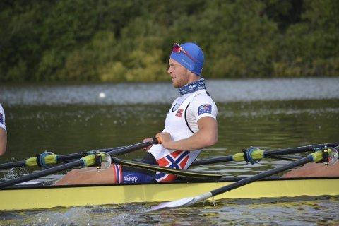 Roer Erik Solbakken er klar for OL. Arkivfoto