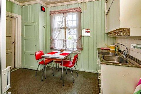 RESPATEKS: Slik var et kjøkken på 1960-tallet.