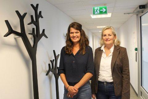INKLUDERING: Ellen Pedersen (t.v.) og Elisabeth Dyhre forteller at målet med SIMM er at alle barn i nye Moss skal føle at de hører til.