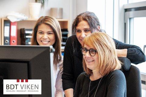 VOKSER I MOSS: BDT Viken er i god framgang i Moss. Fra venstre: Sen Nguyen, Line Hatlen Skovdahl og Jadranka Perisa.